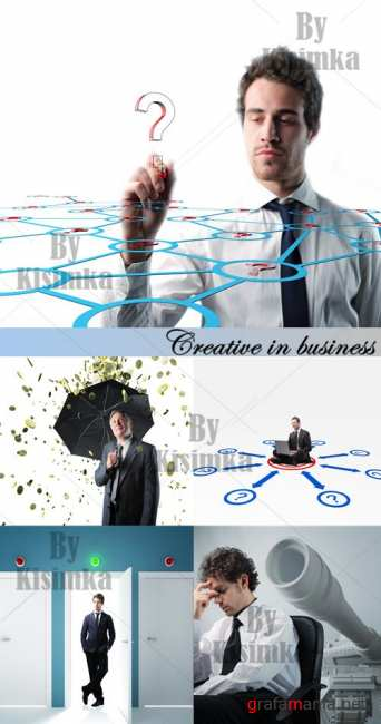 Stock Photo: Creative in business