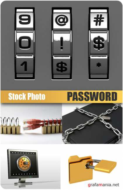 UHQ Stock Photo - Password