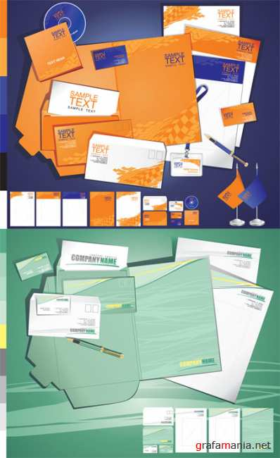 Corporate ID Vector Templates 3