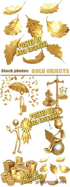 Gold guys & objects