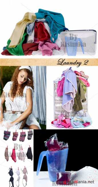 Stock Photo: Laundry 2
