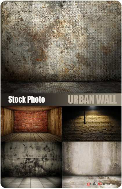 UHQ Stock Photo - Urban Wall