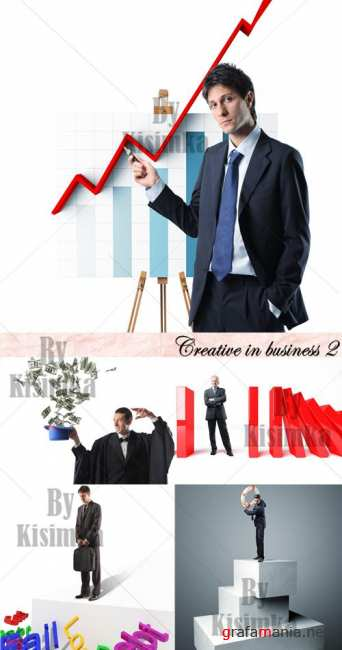 Stock Photo: Creative in business 2