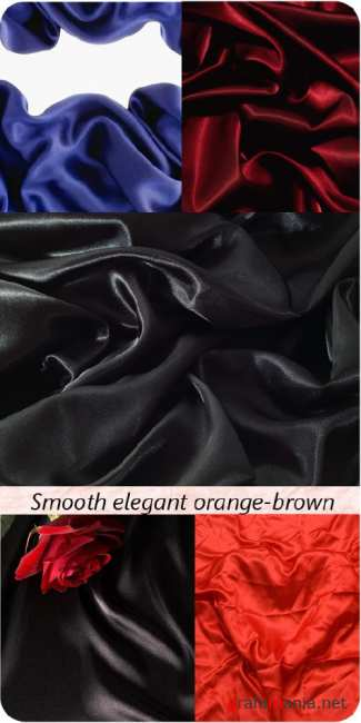 Stock Photo: Smooth_elegant_orange-brown