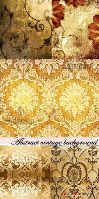 Stock Photo: Abstract vintage background