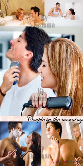 Stock Photo: Couple in the morning