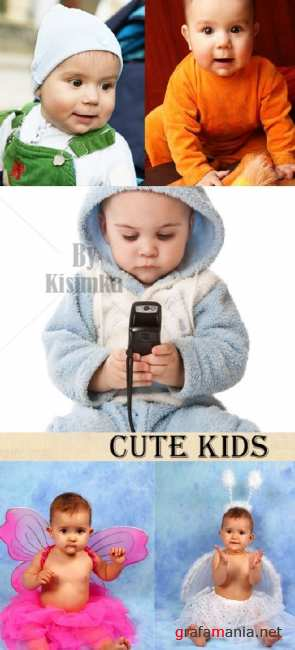 Stock Photo: Cute Kids