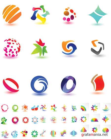 Colorful Vector Icons 7