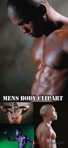 Mens body clipart