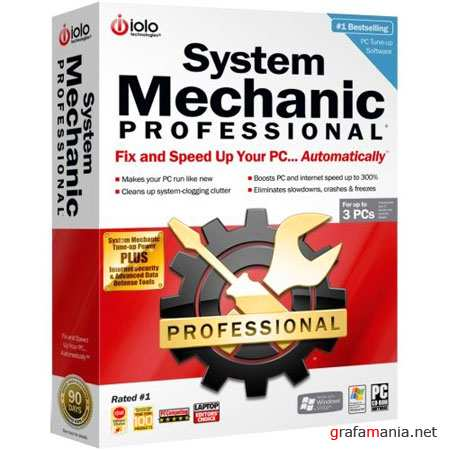 System Mechanic Professional 10.0.0.72 (Eng/2010)