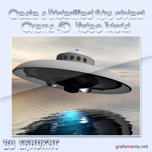 Create a UFO in Cinema 4D