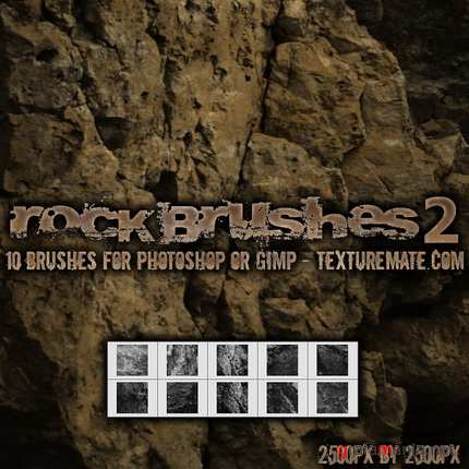 Rock 2 Brush Pack