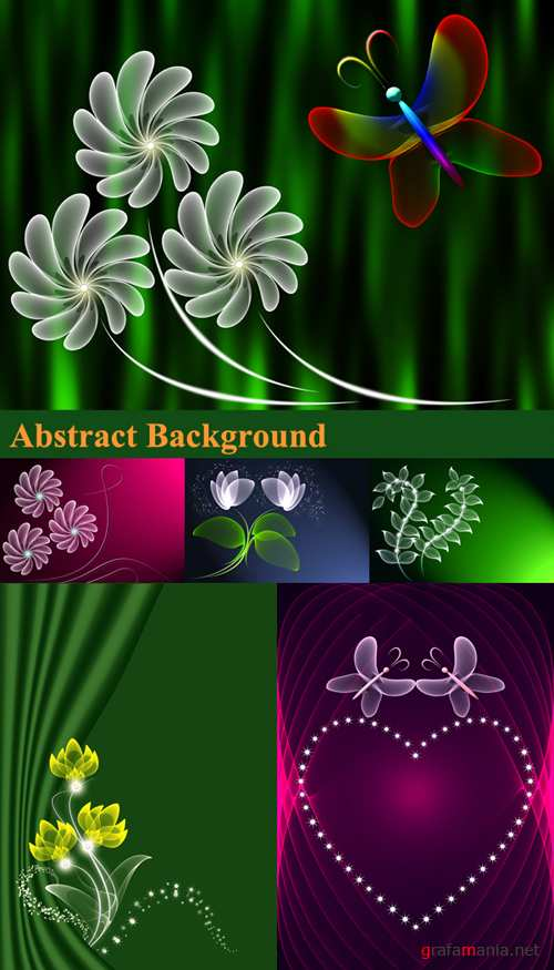 Abstract backgrounds - rastr