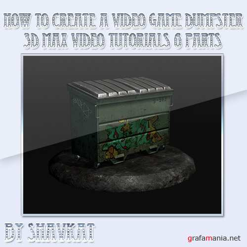 How to Create a Video Game Dumpster: The Complete Current-Gen Workflow Full Video