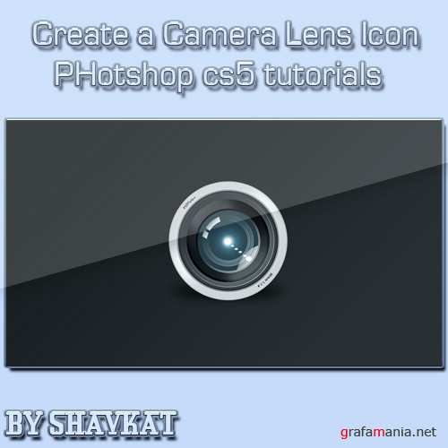 Create a Camera Lens Icon in Photoshop CS5 – Screencast
