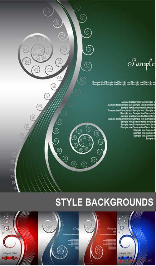 Style backgrounds