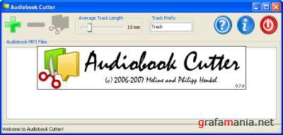 Audiobook Cutter v.0.7.5 Portable