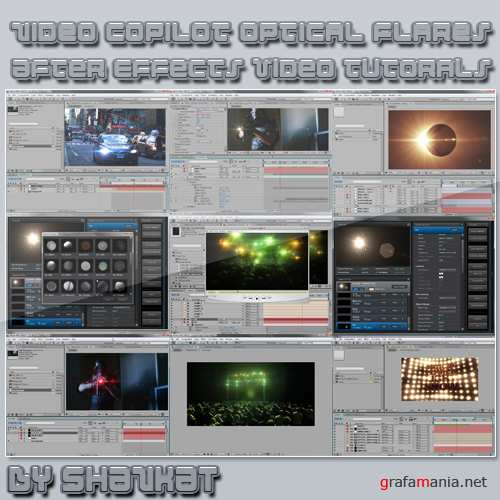 Video copilot Optical Flares Tutorial + Footages
