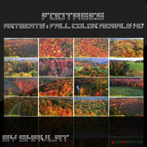 Artbeats - Aerials: Fall Color Aerials HD Vol.2 (1080p)