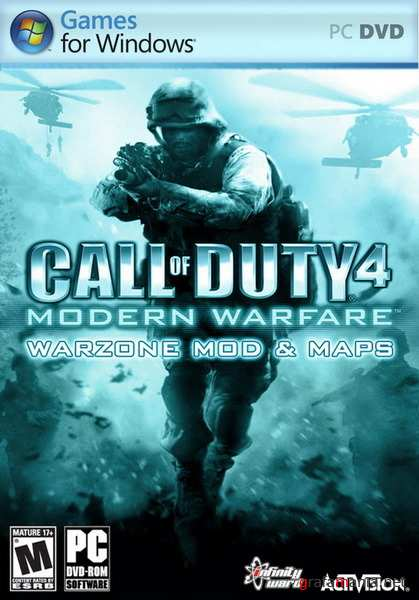 Call of Duty 4 Modern Warfare - WarZone MOD & Maps (2010/RUS)