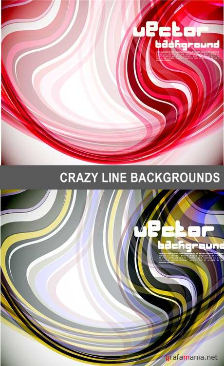 Crazy line backgrounds