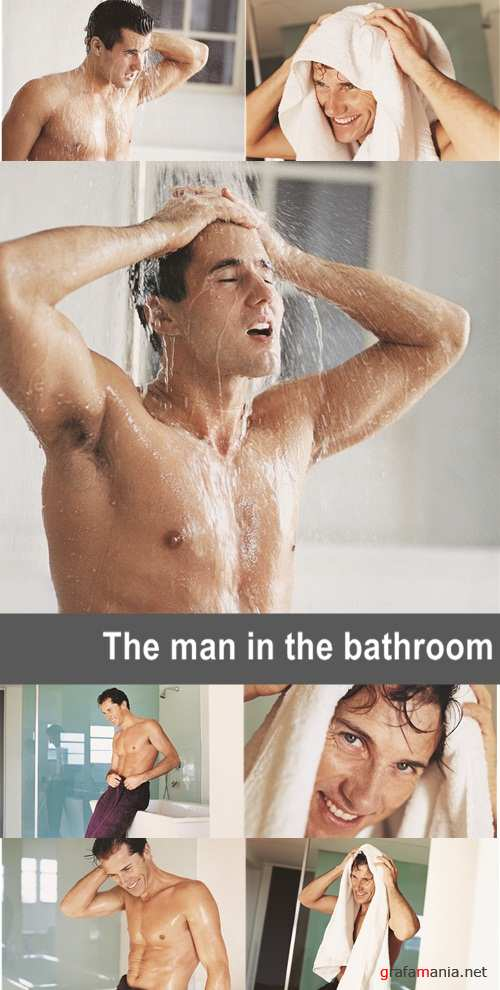 The man in the bathroom