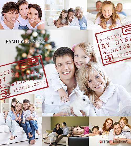 Stock Photo - Family concept