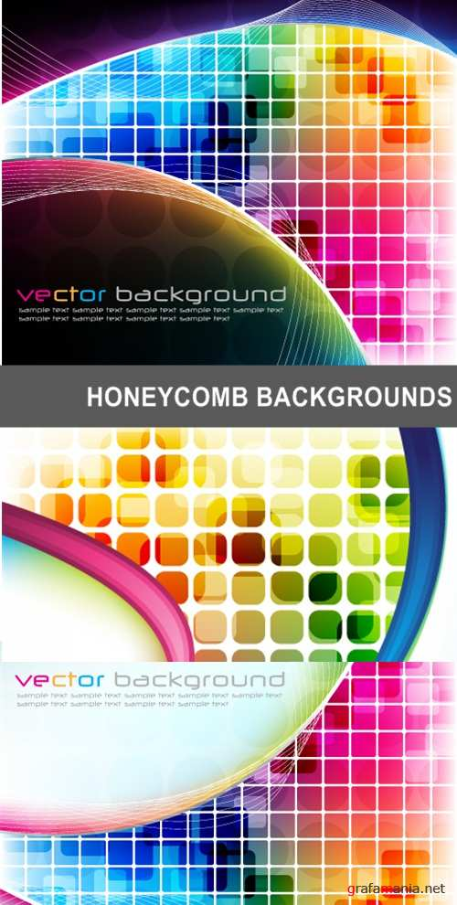 Honeycomb backgrounds