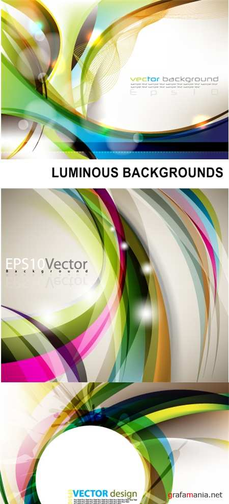 LUMINOUS BACKGROUNDS