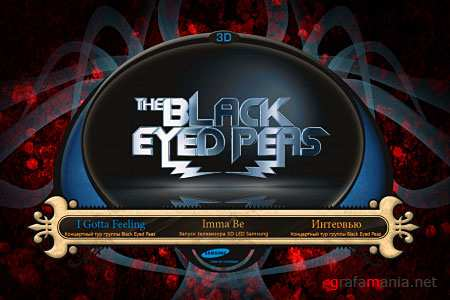 The Black Eyed Peas (Live, Samsung Demo 3D)(2010/Blu-Ray 3D/1080p)