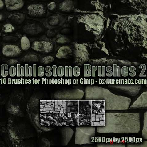 Cobblestone 2 Brush Pack