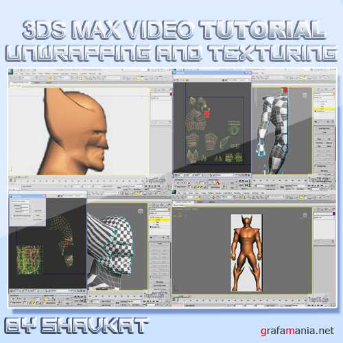 Unwrapping and Texturing a Character in 3Ds Max