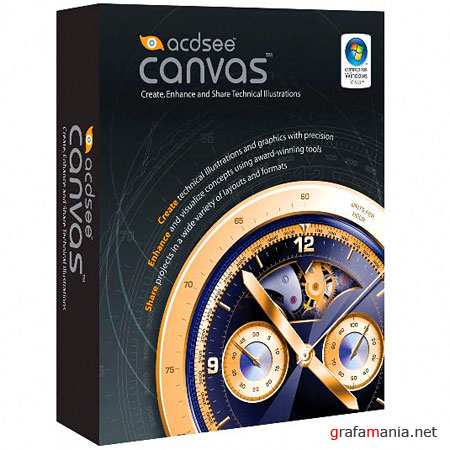 ACDSee Canvas with GIS+ 12.0 Build 1389 (2010)