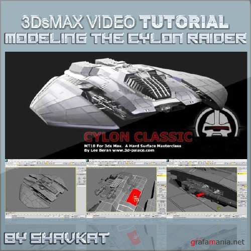 The Cylon Raider in 3ds Max �  Hard Surface Modelling Masterclass