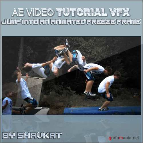 Jump Into An Animated Freeze Frame In After Effects (ENG/2010/VFX)