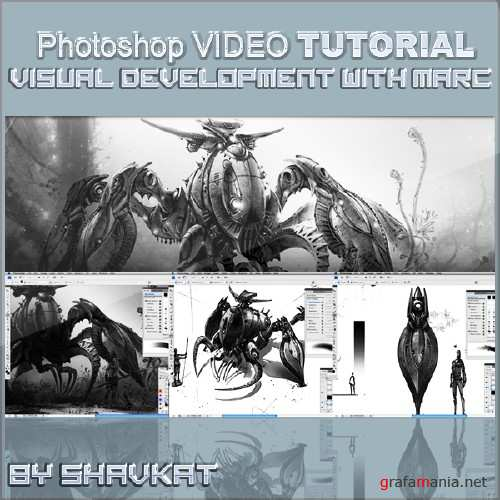 Visual Development with Marc Gabbana Volume 2 in Photoshop CS5