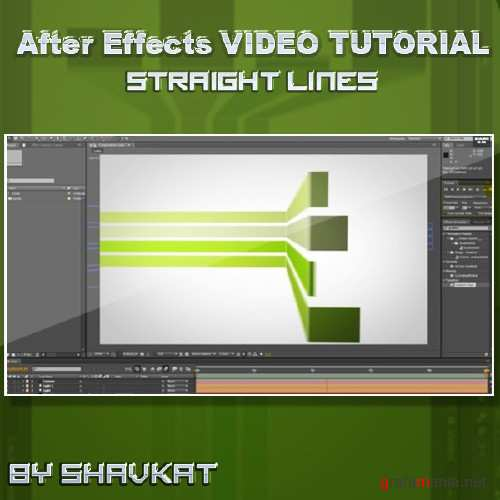 Straight Lines - After Effects Tutorial