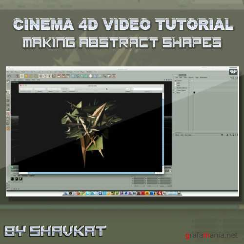 Abstract Shapes - Cinema 4D Tutorial