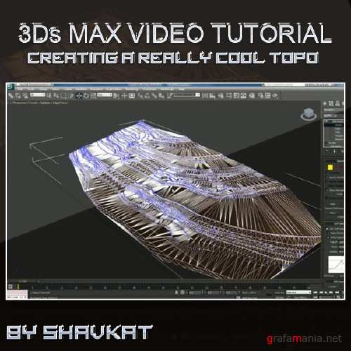 Topo Creation  - 3ds max video tutorial