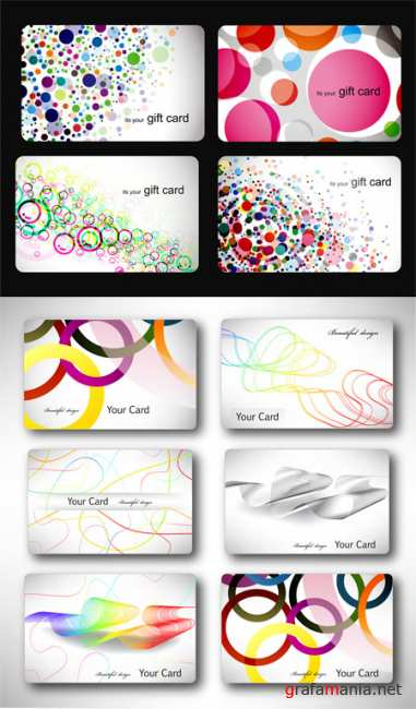 Gift Vector Cards 2