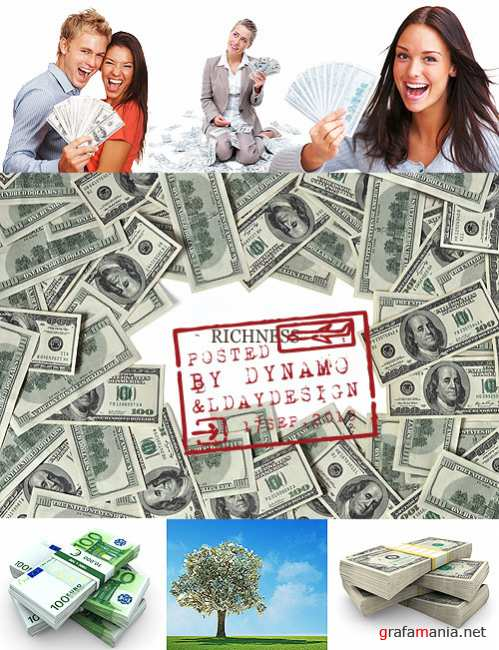 Stock Photo - Money and Richness