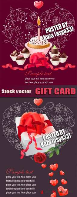 Sweet gift cards