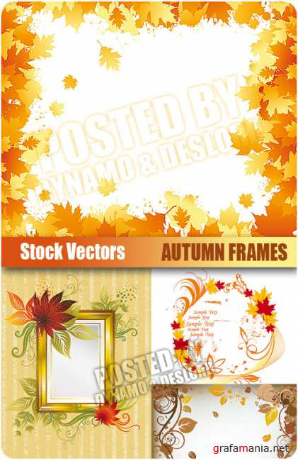 Stock Vectors - Autumn Frames