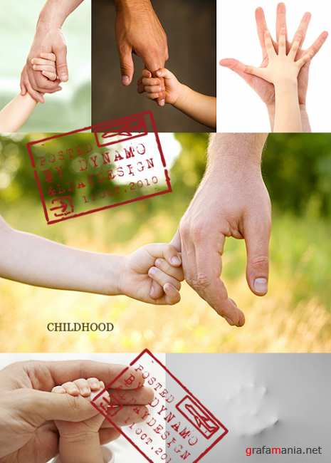 Stock Photo - Childhood and family concept