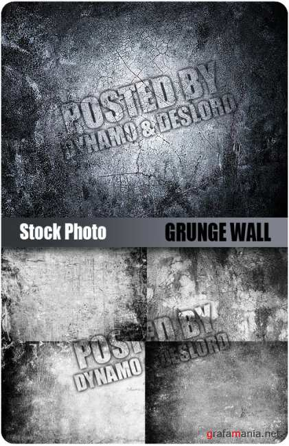 UHQ Stock Photo - Grunge Wall
