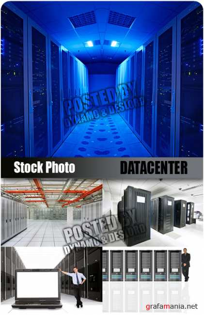 UHQ Stock Photo - Datacenter