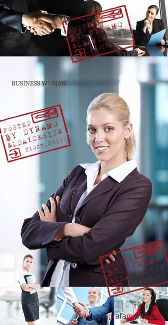Stock Photo - Business woman