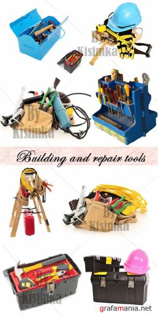 Stock Photo: Building and repair tools