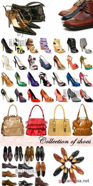 Stock Photo: Collection of shoes