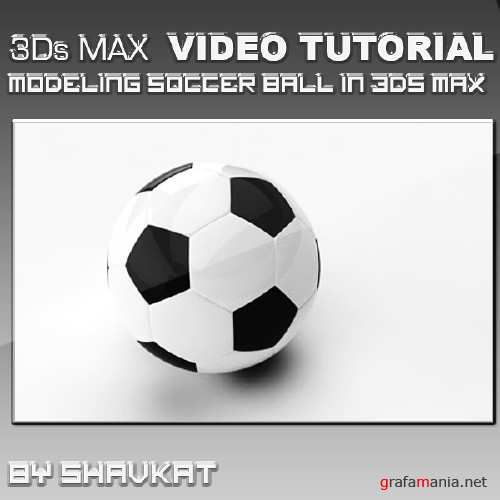 Modeling Soccer Ball in 3Ds MAX